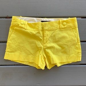 Banana Republic Yellow Shorts